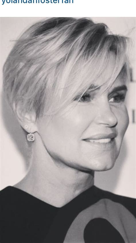 see yolanda fosters new short haircut by jennifer aniston 16 best trendy looks images on pinterest pixie haircuts