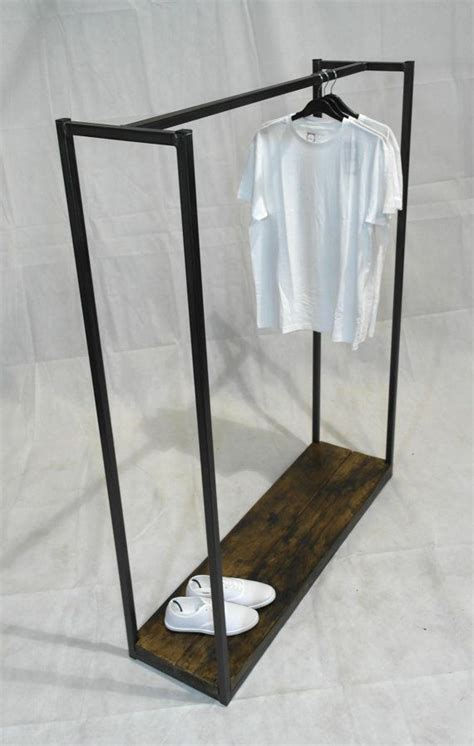 Handmade In Uk - vintage industrial clothes rail display rail handmade
