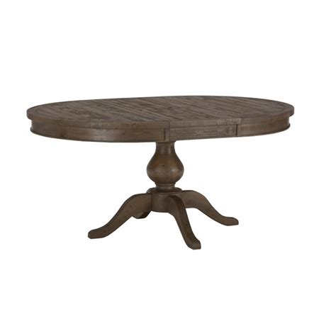 Jofran Dining Tables Jofran 941 Series Oval Dining Table In Slater Mill Pine 941 66t 66b Kit