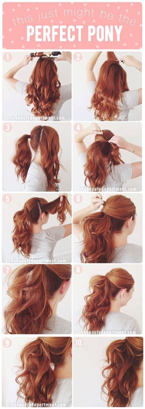 hairstyles for curly hair step by step 20 ponytail hairstyles discover latest ponytail ideas now