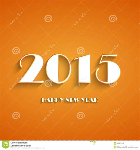 new year logo design 2015 happy new year 2015 creative greeting card design stock