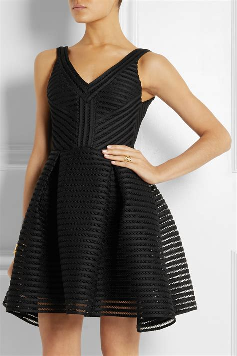 Maje Dress maje mesh striped jersey dress 305 93 21 dresses