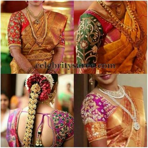 South Brides Wedding Blouses Gallery   Saree Blouse Patterns