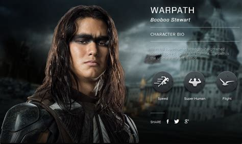 film character biography warpath days of future past future past warpath