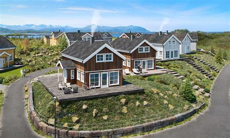houses in norway architectural rendering 3d rendering of home in lysoya