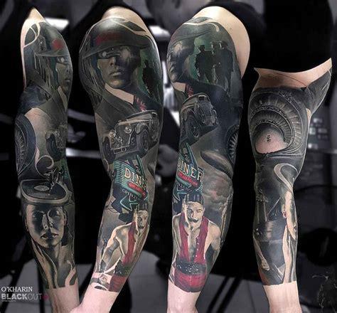 tattoo artist aleksandr o harin st petersburg russia