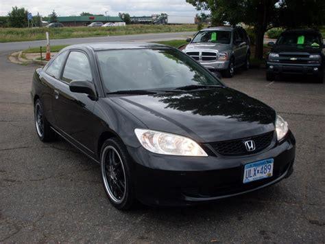 black honda ride auto 2005 honda civic black