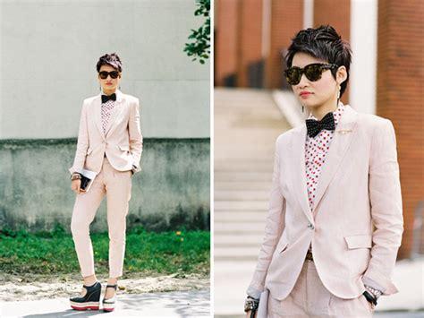 Wedding attire for a non femme lesbian bride : femalefashionadvice