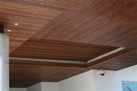 techos de plafon plafones de madera para techo materiales para la