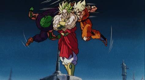 imagenes de goku y broly pelea de goku vs broly