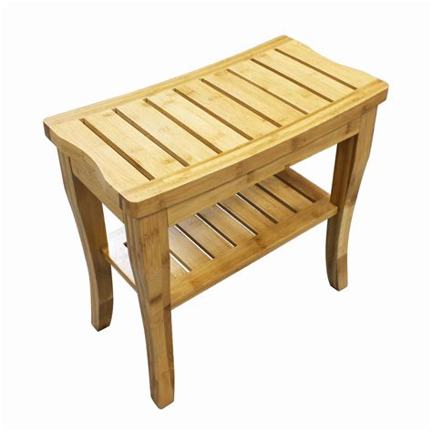 bamboo shower bench homex bamboo shower bench homex