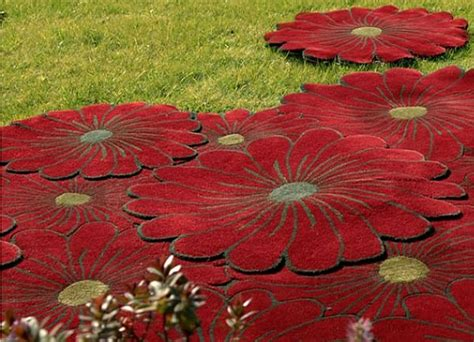 flower design rugs joyful layered flowers rug collection by piodao