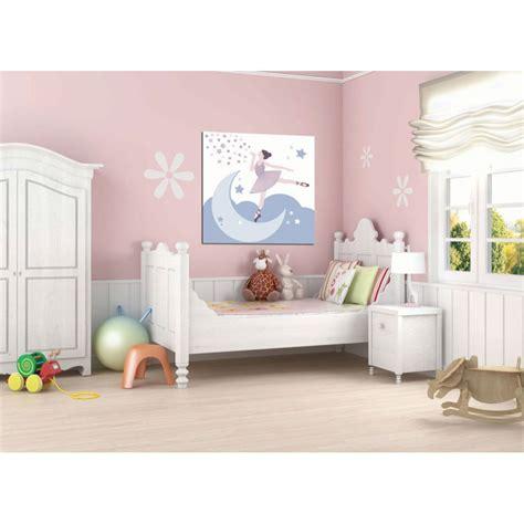 Ordinaire Chambre Petite Fille Rose #6: tableau-deco-enfant-danseuse-etoile.jpg