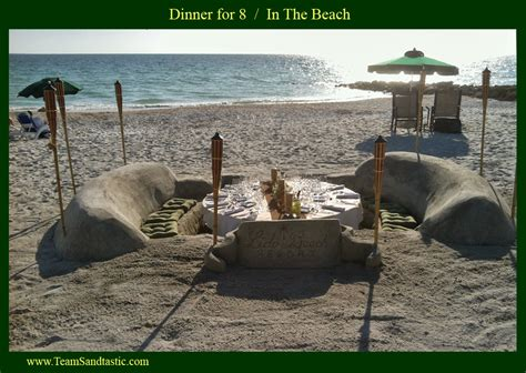 The Table Sarasota by The Ultimate Florida Wedding Dinner In The Sand Destination W