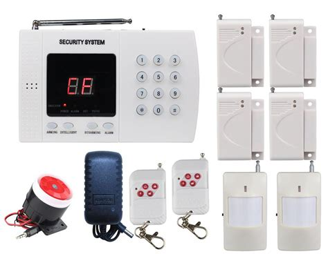 a08 pstn wireless home alarm security burglar system auto
