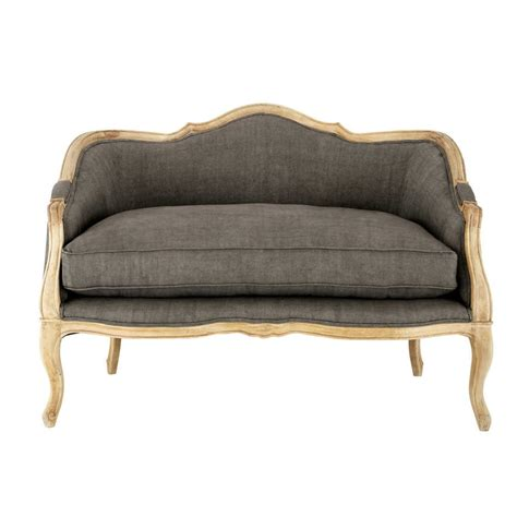 charcoal grey loveseat loveseat in charcoal grey linen seats 2 sissi sissi