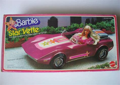 barbie corvette vintage vintage 1976 barbie starvette with original box