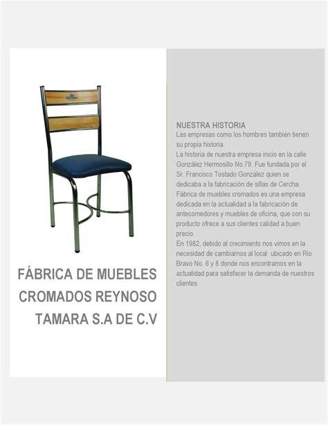 muebles cromados f 225 brica de muebles cromados reynoso tamara by muebles