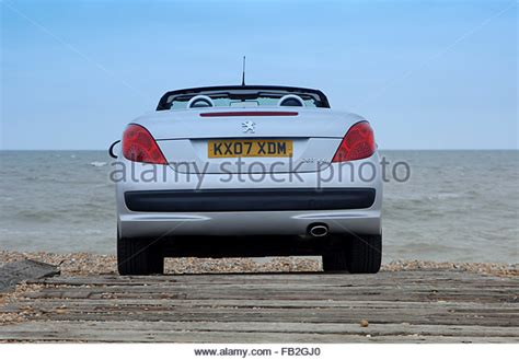peugeot open top peugeot 206 cc stock photos peugeot 206 cc stock images