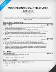 Resume Format For Engineering Manager Sle Project Manager Resume Exle Memes