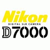 nikon digital slr camera d7000 logo vector (.svg) free