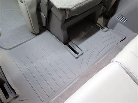 2009 gmc acadia floor mats weathertech
