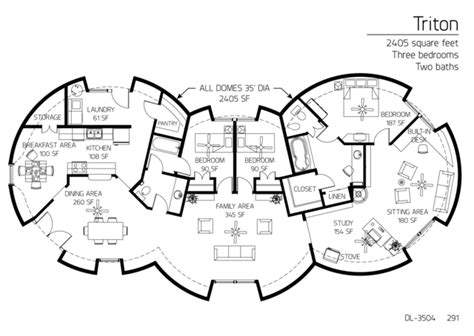 dome homes floor plans beautiful floor plans 3 bedrooms