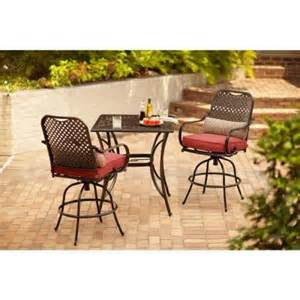 Hton Bay Patio Furniture Hton Bay Fall River 3 Patio High Dining Set With