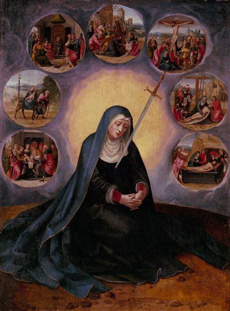 la virgen de los virgen de los siete dolores museu nacional d art de catalunya