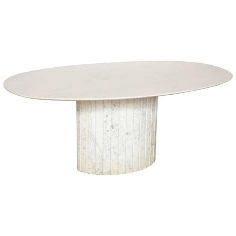 oval marble dining table oval marble dining table at 1stdibs