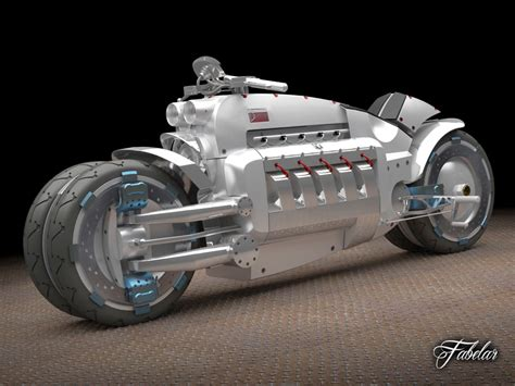 Tomahawk Motorrad by Dodge Tomahawk Concept Motorcycle 3d Max