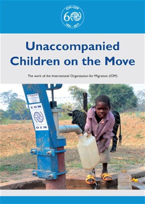 unaccompanied minor books unaccompanied children on the move iom bookstore