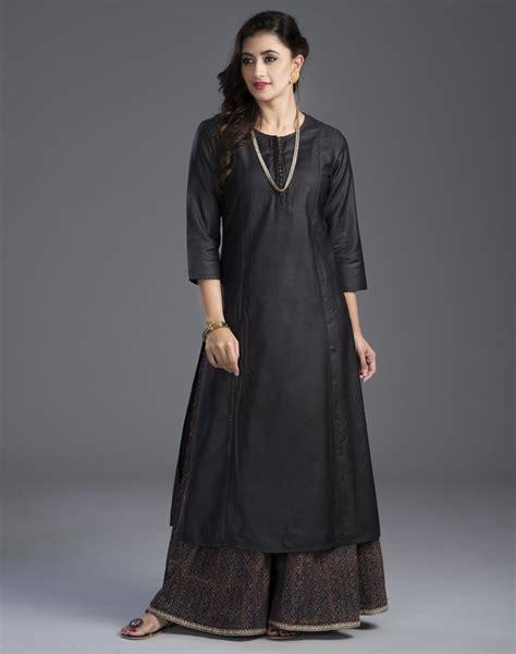 Formal Dining Room Sets buy fabindia black silk muga potli button long kurta