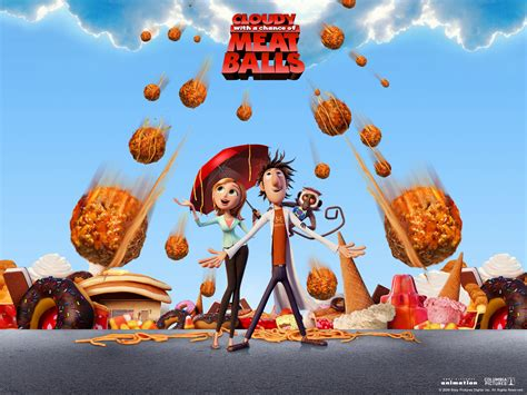 film cartoon food cloudy with a chance of meatballs