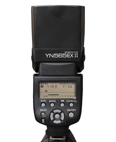 tutorial flash yongnuo 565 yongnuo yn 565ex ii now available minor update