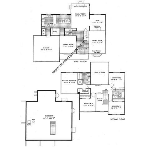 devonshire floor plan devonshire model in the braemar subdivision in lake zurich