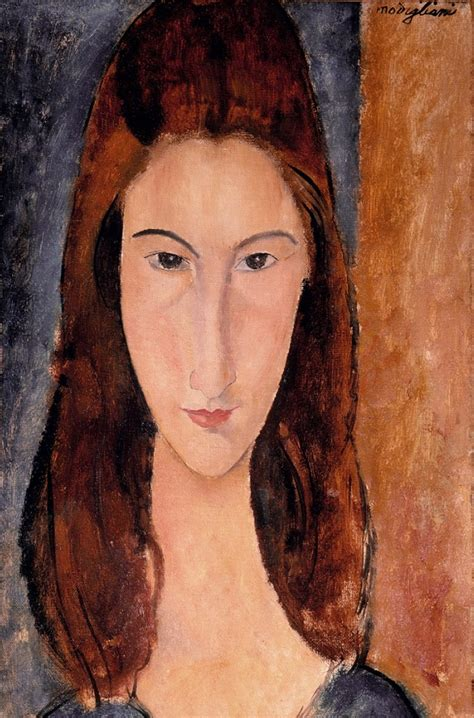 modigliani with a fan jeanne hebuterne 1919 by amedeo modigliani