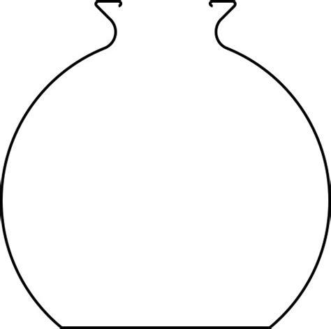 coloring earthen pots clay pot outline clipart best