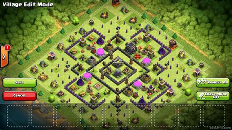 layout for th9 aftershock maximum dark elixir protection for town hall