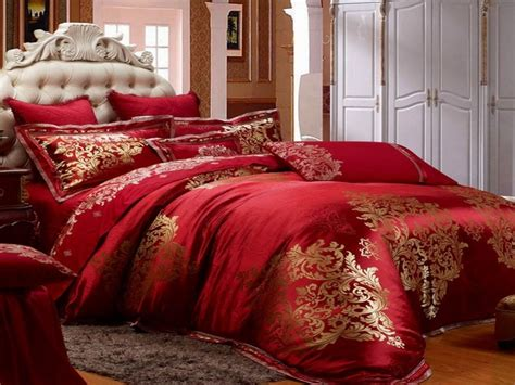 red and gold bedding red and gold bedroom red luxury bedding collections