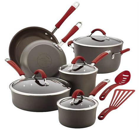 Promo Shinil 12 Pcs Cookware Set rachael cookware sets as low as 95 99 from kohls 62