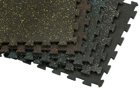 3 8 black rubber interlocking tiles 2 x2 rymar