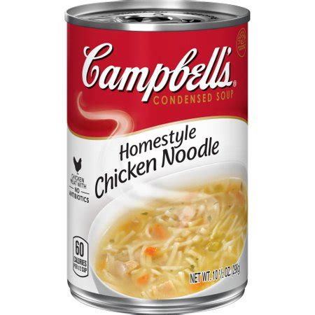 campbell's condensed homestyle chicken noodle soup, 10.5