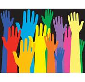 Colorful Hands On The Dark Powerpoint Templates  Arts