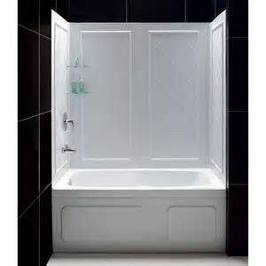shower surround adhesive swan 32 in x 60 in x 59 5 8 in 5 easy up adhesive