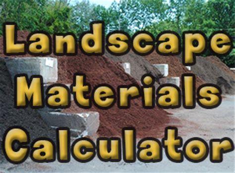 material calculator sand mulch burke landscape