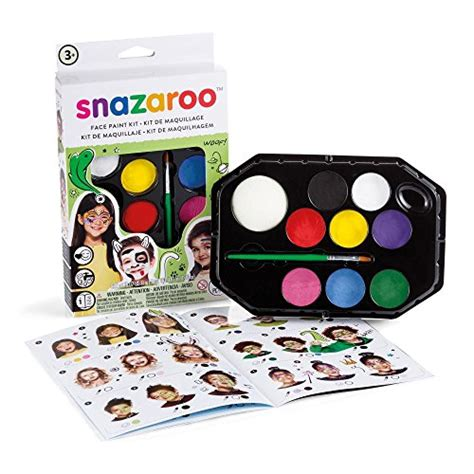 Snazaroo Leopard Painting Kit snazaroo rainbow paint kit rainbow buy in uae kitchen products in the uae see