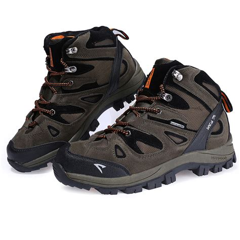 Sepatu Merk Orange jual sepatu gunung hiking boot outdoor snta 463 green