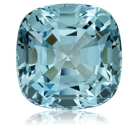mozambique aquamarine cushion 30 90ct king gems