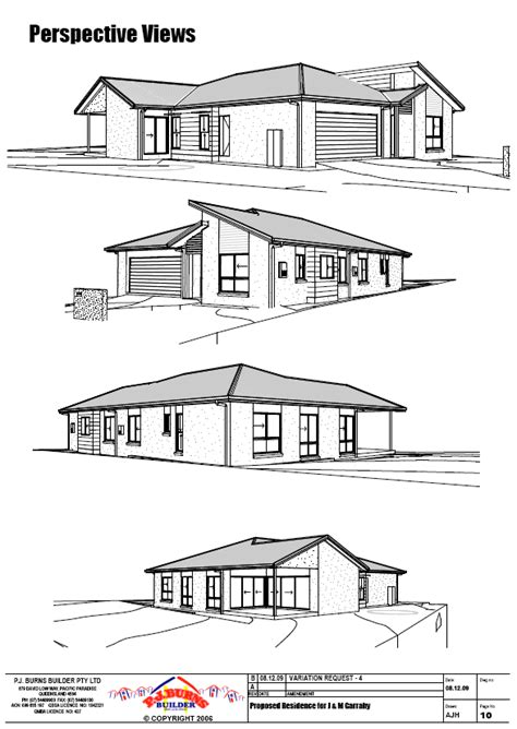 floor plan and perspective perspective view of a house plan view home plans ideas picture